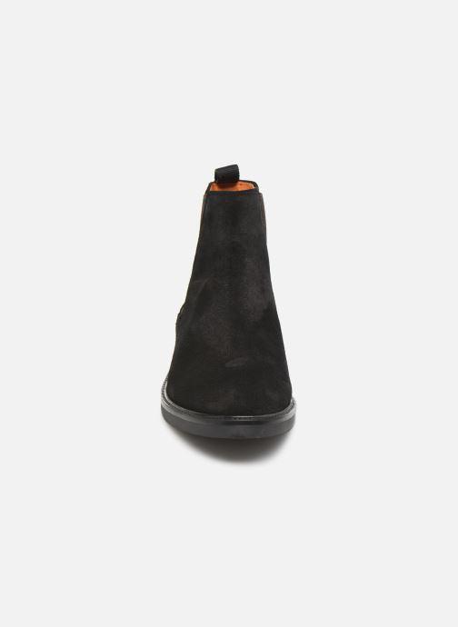 Bottines et boots Bianco BIACHAIN LEATHER CHELSEA 56-71751 Marron vue portées chaussures
