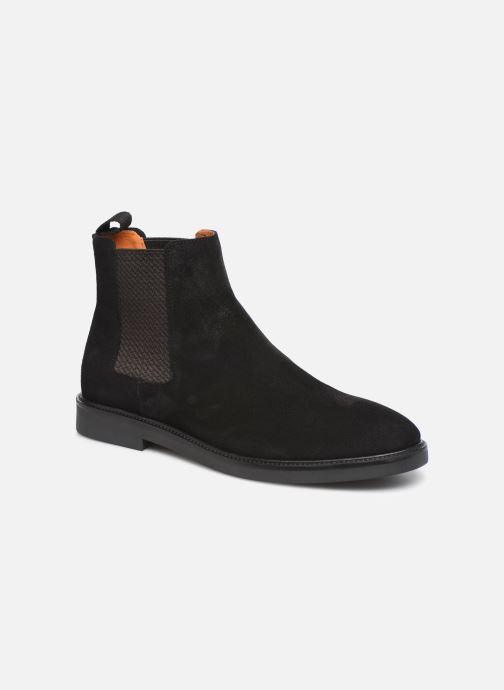 Bottines et boots Bianco BIACHAIN LEATHER CHELSEA 56-71751 Marron vue détail/paire
