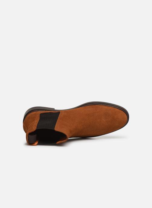 Bottines et boots Bianco BIACHAIN LEATHER CHELSEA 56-71751 Marron vue gauche