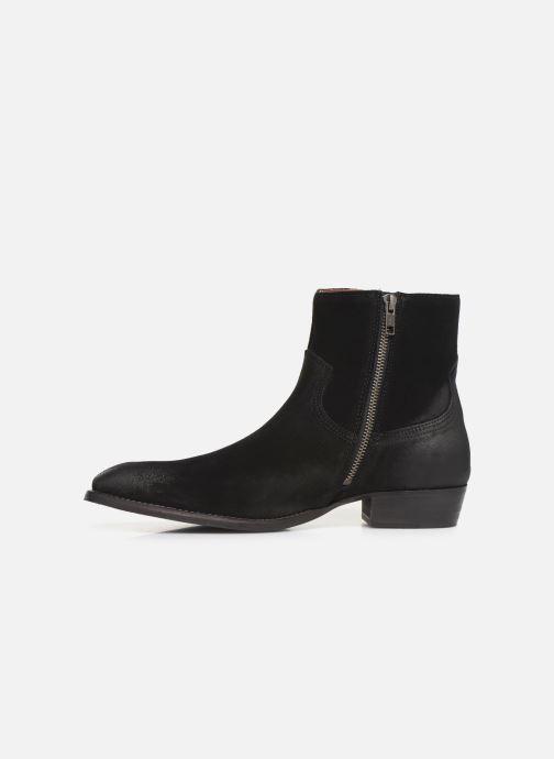 Bottines et boots Bianco BIABEACK SUEDE BOOT 56-71768 Noir vue face