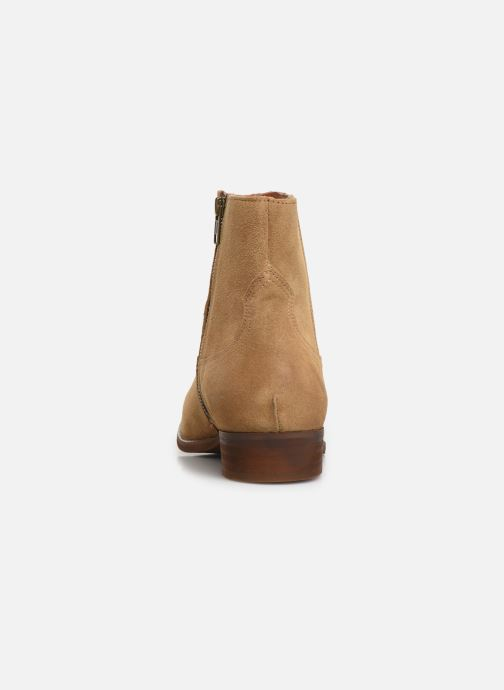 Ankle boots Bianco BIABEACK SUEDE BOOT 56-71768 Beige view from the right