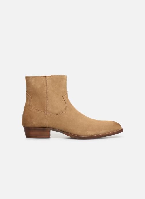 Ankle boots Bianco BIABEACK SUEDE BOOT 56-71768 Beige back view