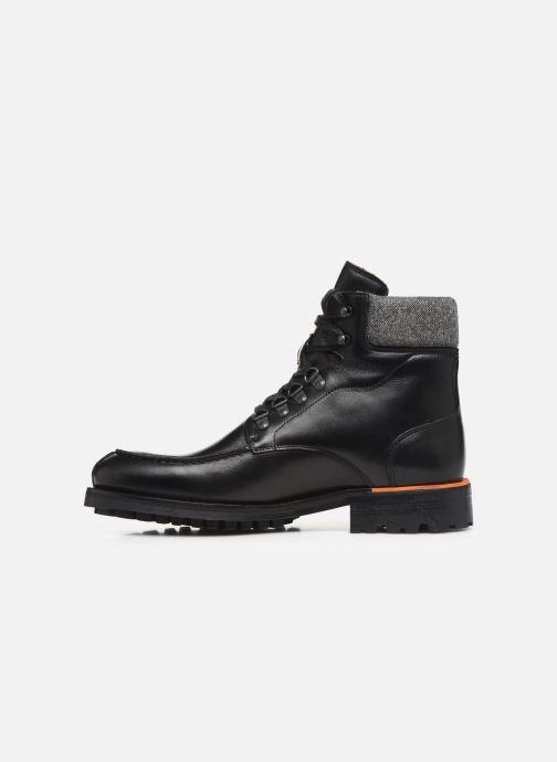 Bottines et boots Bianco BIACARNEY TWEED BOOT 56-71769 Noir vue face