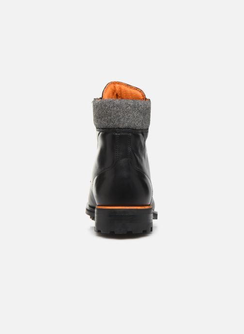 Bottines et boots Bianco BIACARNEY TWEED BOOT 56-71769 Noir vue droite