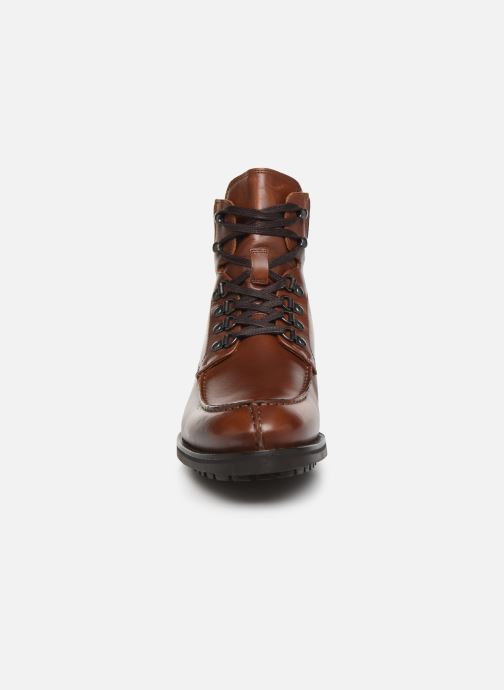 Bottines et boots Bianco BIACARNEY TWEED BOOT 56-71769 Marron vue portées chaussures