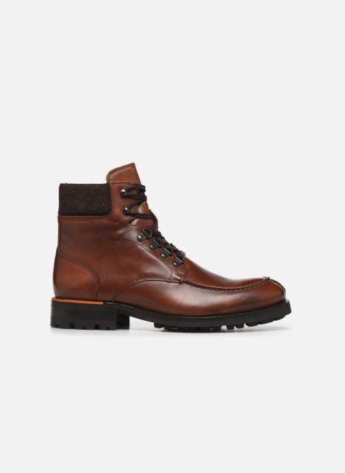 Bottines et boots Bianco BIACARNEY TWEED BOOT 56-71769 Marron vue derrière