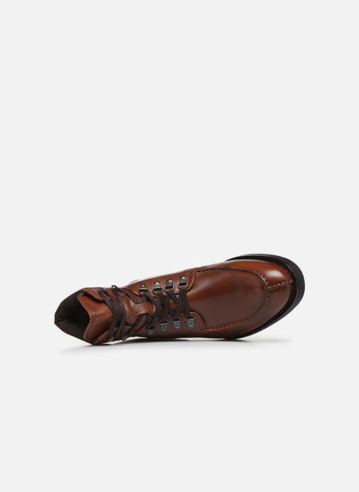 Bottines et boots Bianco BIACARNEY TWEED BOOT 56-71769 Marron vue gauche