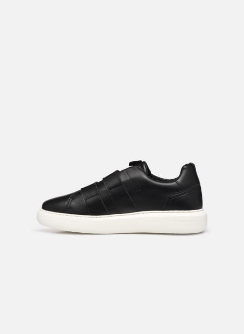 Trainers Bianco BIAKING TWIN STRAP SNEAKER 64-71744 Black front view