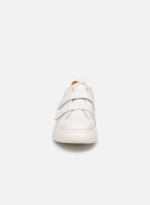 Baskets Bianco BIAKING TWIN  STRAP SNEAKER 64-71744 Blanc vue portées chaussures