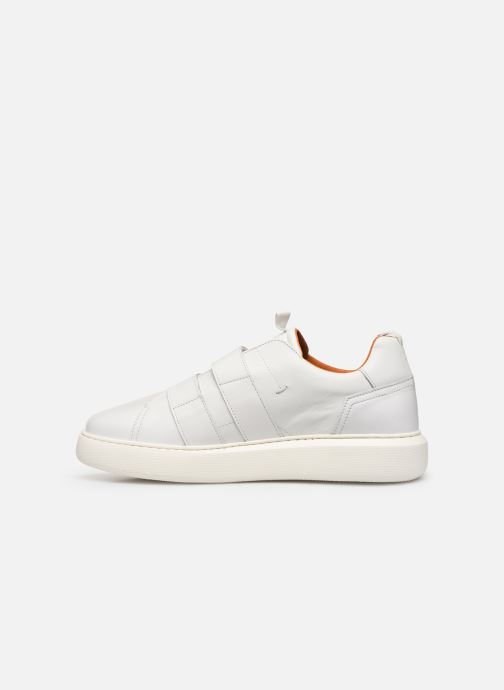 Trainers Bianco BIAKING TWIN  STRAP SNEAKER 64-71744 White front view