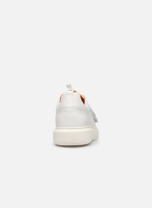 Trainers Bianco BIAKING TWIN  STRAP SNEAKER 64-71744 White view from the right
