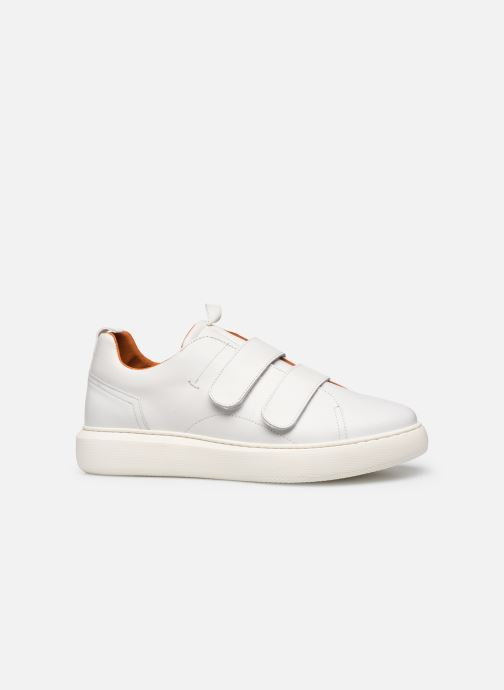 Trainers Bianco BIAKING TWIN  STRAP SNEAKER 64-71744 White back view