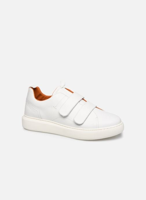 Trainers Bianco BIAKING TWIN  STRAP SNEAKER 64-71744 White detailed view/ Pair view