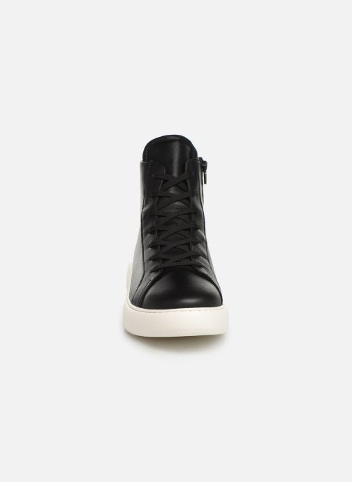 Baskets Bianco BIAKING HIGH TOP 64-71745 Noir vue portées chaussures