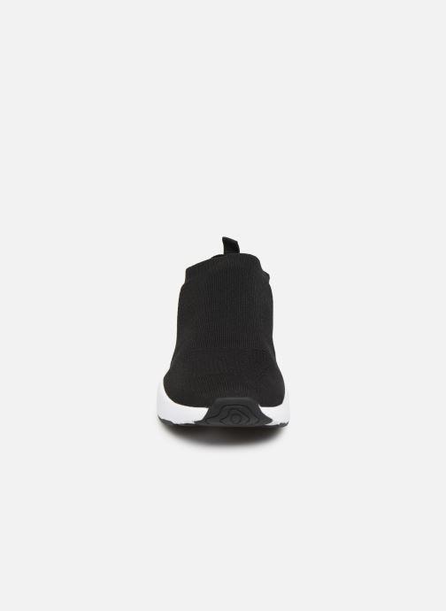 Baskets Bianco BIACAREW KNIT SNEAKER 64-71786 Noir vue portées chaussures