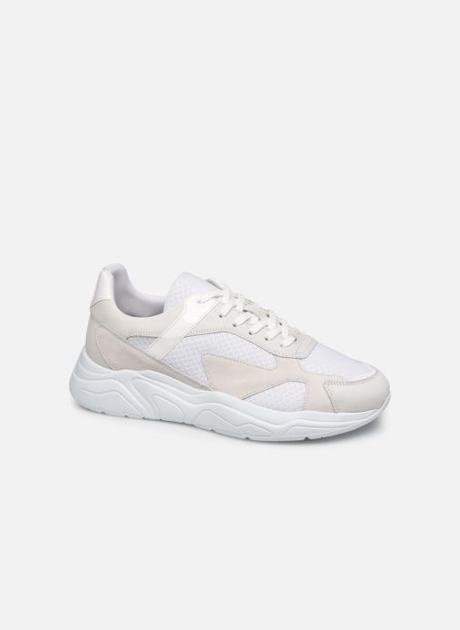 Trainers Bianco BIACALIX SNEAKER 64-71787 White detailed view/ Pair view