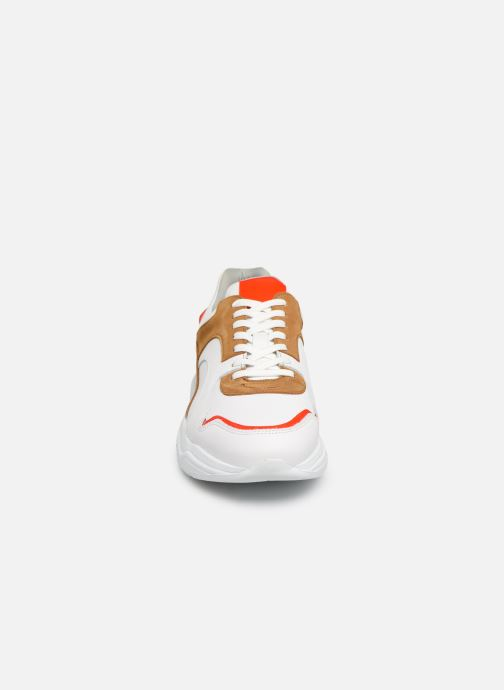 Baskets Bianco BIACALIX LEATHER SNEAKER 64-71792 Multicolore vue portées chaussures