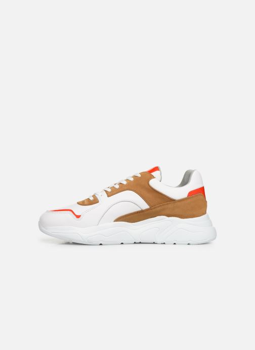 Trainers Bianco BIACALIX LEATHER SNEAKER 64-71792 Multicolor front view