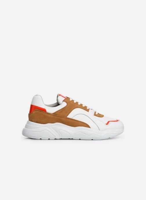 Trainers Bianco BIACALIX LEATHER SNEAKER 64-71792 Multicolor back view