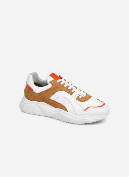 Trainers Bianco BIACALIX LEATHER SNEAKER 64-71792 Multicolor detailed view/ Pair view