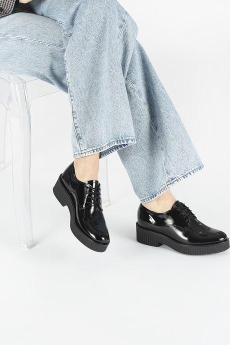 Chaussures à lacets Bianco BIACASS CHUNKY LACED UP DERBY 25-50281 Noir vue bas / vue portée sac