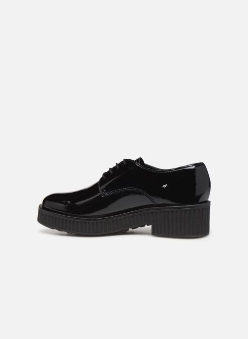 Zapatos con cordones Bianco BIACASS CHUNKY LACED UP DERBY 25-50281 Negro vista de frente