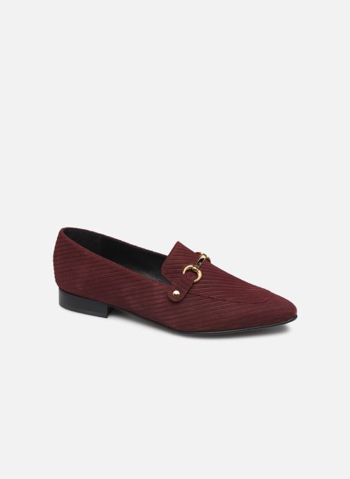 Loafers Bianco BIABRENDA SUEDE LOAFER 25-50305 Burgundy detailed view/ Pair view