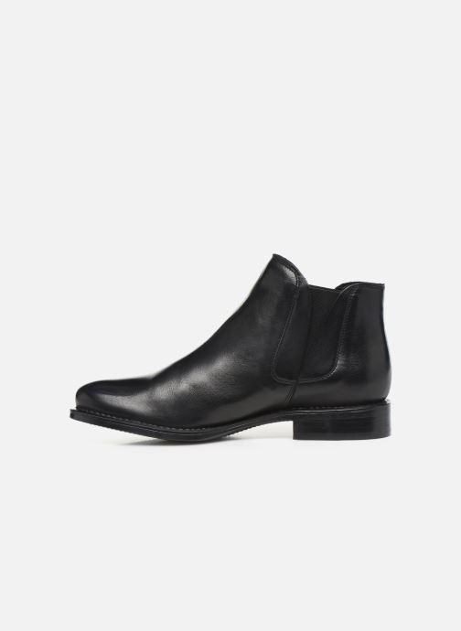 Bottines et boots Bianco BIACHARME LEATHER V SPLIT BOOT 26-49595 Noir vue face