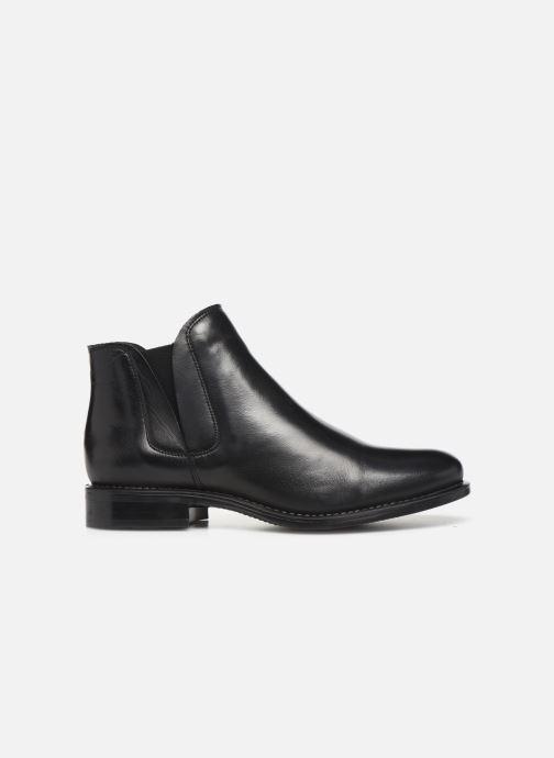 Bottines et boots Bianco BIACHARME LEATHER V SPLIT BOOT 26-49595 Noir vue derrière