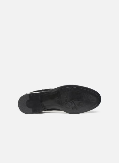 Bottines et boots Bianco BIACHARME LEATHER V SPLIT BOOT 26-49595 Noir vue haut