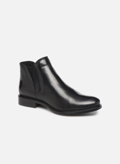 Bottines et boots Bianco BIACHARME LEATHER V SPLIT BOOT 26-49595 Noir vue détail/paire