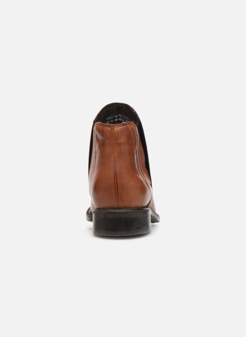 Bottines et boots Bianco BIACHARME LEATHER V SPLIT BOOT 26-49595 Marron vue droite