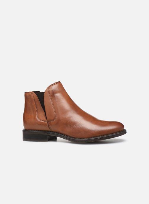 Bottines et boots Bianco BIACHARME LEATHER V SPLIT BOOT 26-49595 Marron vue derrière