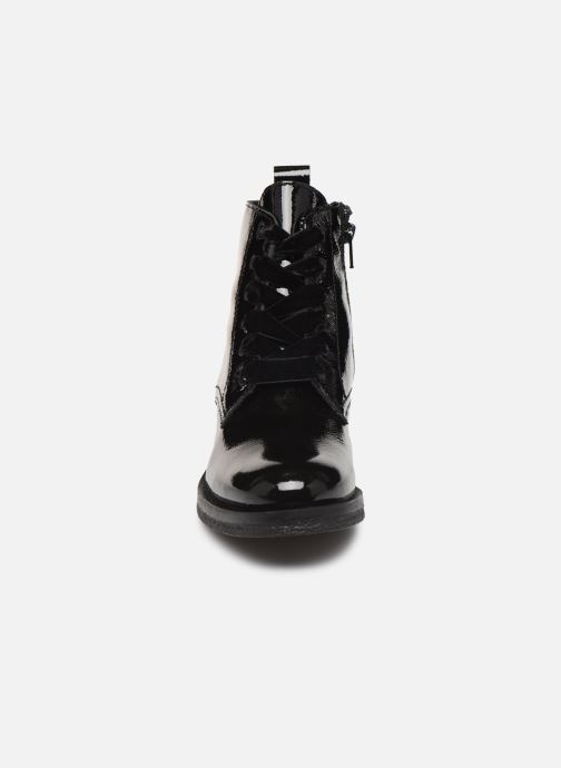 Botines  Bianco BIATINE PATENT LACED UP BOOT 26-49887 Negro vista del modelo
