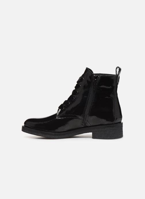 Bottines et boots Bianco BIATINE PATENT LACED UP BOOT 26-49887 Noir vue face