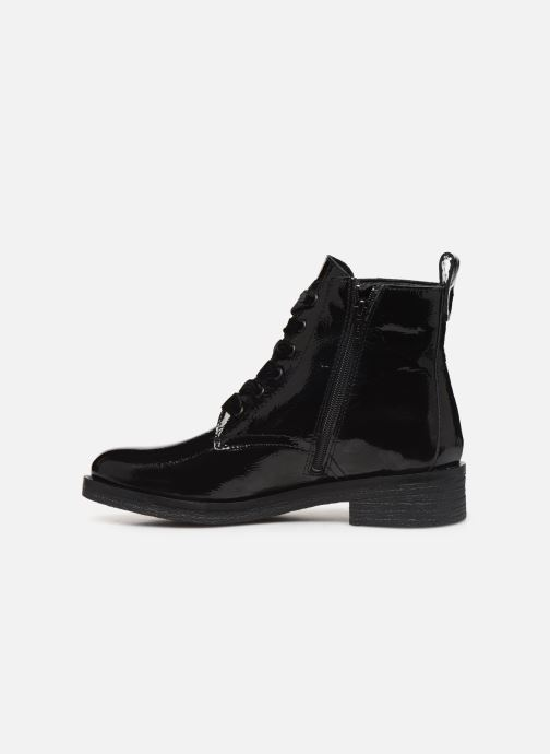 Botines  Bianco BIATINE PATENT LACED UP BOOT 26-49887 Negro vista de frente