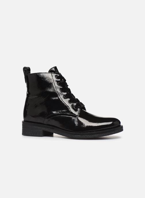 Bottines et boots Bianco BIATINE PATENT LACED UP BOOT 26-49887 Noir vue derrière