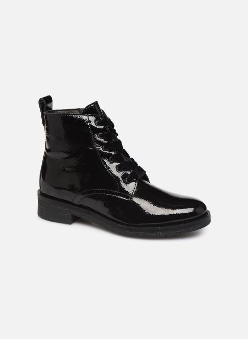 Bottines et boots Bianco BIATINE PATENT LACED UP BOOT 26-49887 Noir vue détail/paire
