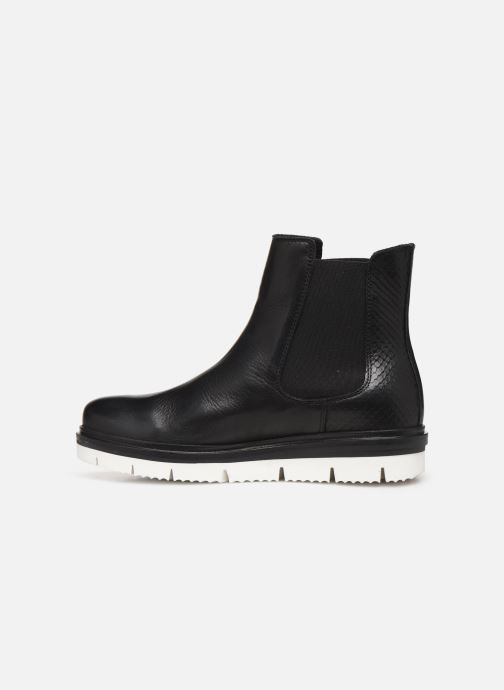 Ankle boots Bianco BIASTELLA CLEATED CHELSEA 26-49891 Black front view