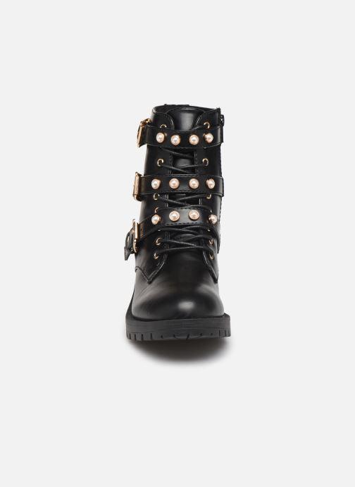 Boots en enkellaarsjes Bianco BIAPEARL BIKER BOOT 26-49917 Zwart model