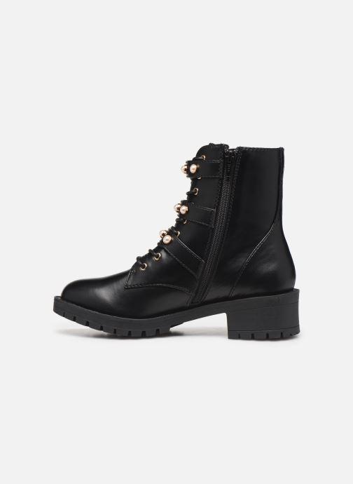 Boots en enkellaarsjes Bianco BIAPEARL BIKER BOOT 26-49917 Zwart voorkant