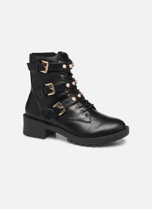 Boots en enkellaarsjes Bianco BIAPEARL BIKER BOOT 26-49917 Zwart detail