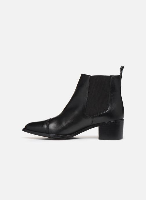 Boots en enkellaarsjes Bianco BIACAROL DRESS CHELSEA 26-50096 Zwart voorkant