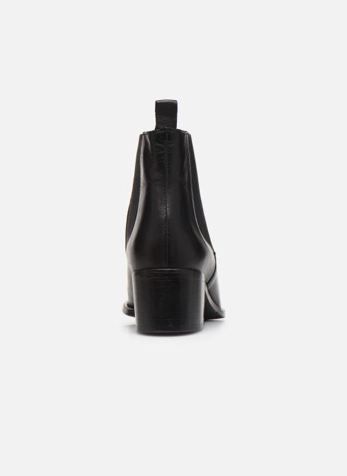 Boots en enkellaarsjes Bianco BIACAROL DRESS CHELSEA 26-50096 Zwart rechts