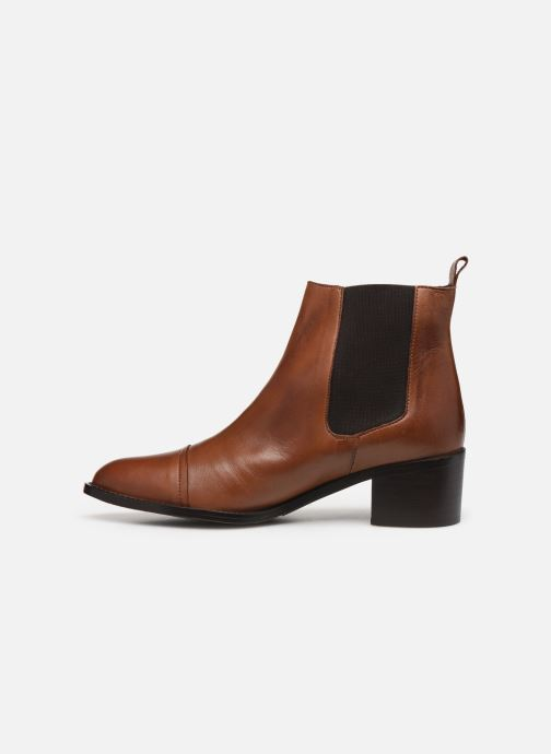 Bottines et boots Bianco BIACAROL DRESS CHELSEA 26-50096 Marron vue face
