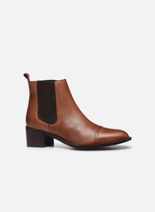 Bottines et boots Bianco BIACAROL DRESS CHELSEA 26-50096 Marron vue derrière