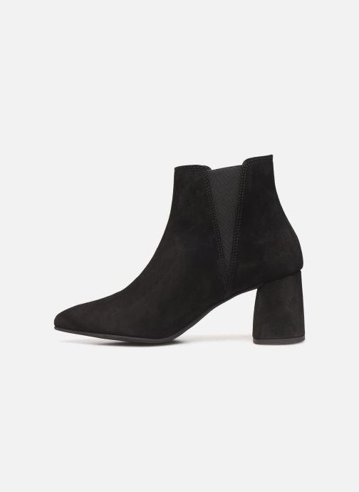 Bottines et boots Bianco BIACHERISE SUEDE BOOT 26-50207 Noir vue face