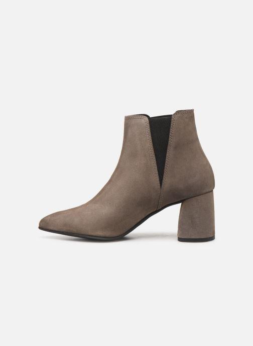 Bottines et boots Bianco BIACHERISE SUEDE BOOT 26-50207 Gris vue face