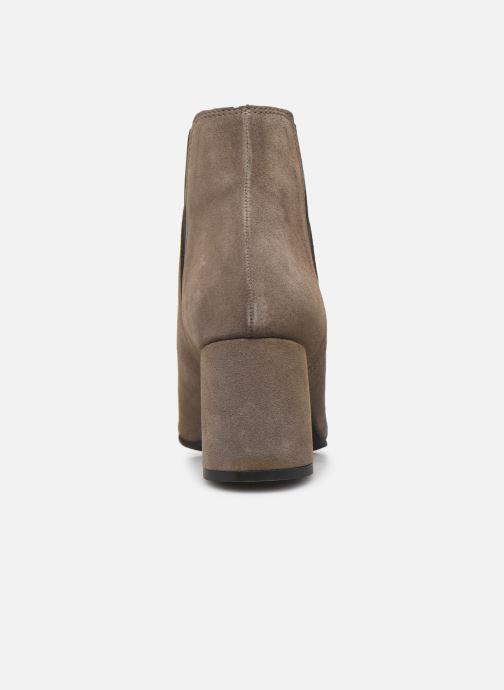 Bottines et boots Bianco BIACHERISE SUEDE BOOT 26-50207 Gris vue droite
