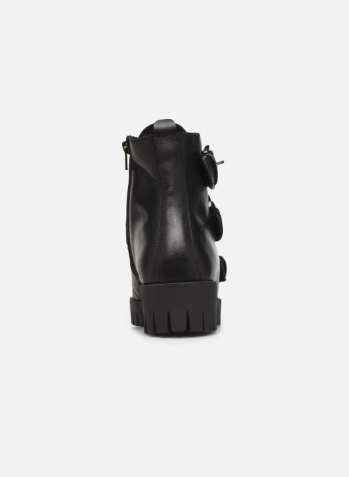 Bottines et boots Bianco BIACECILE TRIPLE BUCKLE BOOT 26-50219 Noir vue droite